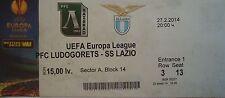 Ticket uefa am 2013/14 Ludogorets Razgrad-ss lazio roma
