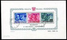 POLEN 1950 BLOCKA11 gest GROSZY Mi 2200€(Z1023