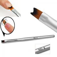 Pinceles Manicura Brochas UV Gel Acrílico Pintura Dibujo Arte Uñas Cepillos