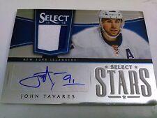 John Tavares 2013-14 Select Stars Prime Patch Auto /15 Islanders