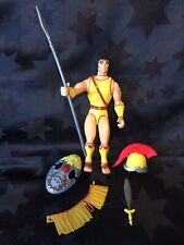 Vintage 1983 Figure ADVANCED DUNGEONS & DRAGONS - Male Titan, shield & Weapons