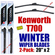WINTER Wipers 2-Pack Premium Grade - fit 2011-2014 Kenworth T700 - 35200x2