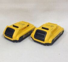 2-PACK GENUINE DeWALT DCB203-2 NEW 20V MAX* XR Lithium Batteries 2018 DATE CODE