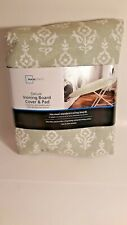Mainstays Deluxe Ironing Board Cover & Pads Floral Fits Most Ironing Boards
