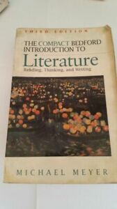 Compact Bedford Introduction to Literature Reading Thinking and Writing Meyer,