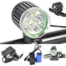 6000Lm 3X XML T6 LED Linterna Frontal Luz Cabeza Bicicleta Headlight Ciclismo EU