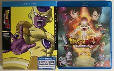 DRAGON BALL Z RESURRECTION F BLU RAY DVD WALMART EXCLUSIVE SLIPCOVER + DECAL