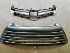 fits 2015-2017 TOYOTA CAMRY LE XLE Front Bumper Upper & Lower Grille NEW SET 2PC