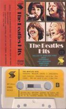 THE BEATLES HITS Nelson Davis y orquesta SPANISH CASSETTE PAPER LABEL 1976 SPAIN