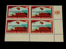 U.N. 1971, New York #219, U.P.U. Headquarters, Mnh, Insc. Blk/4, Nice! Lqqk!