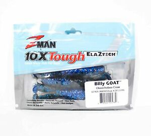 Zman Soft Lure Billy Goat 4.25 Inch 3 per Pack Okeechobee Craw (5360)