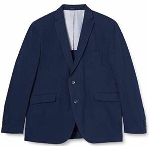Hackett men's PIQUE KNIT blazer size 38S - textured 100% cotton, partially lined