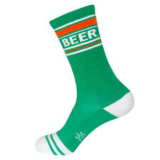 Gumball Poodle Ribbed Gym Socks - Green Beer - Unisex