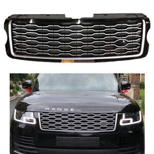 Front Bumper Upper Grille Facelift For Land Rover Range Rover Vogue L405 2013-17