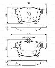 Brake Pads Set 0986494659 Bosch 5Q0698451 5Q0698451C 5Q0698451N 5Q0698451Q 24306