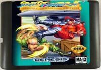 Street Fighter II: Special Champion Edition (1993) 16 Bit For Sega Genesis / MD