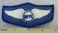 NATIONAL PILOTS ASSOCIATION NPA WINGS PATCH Vintage ORIGINAL