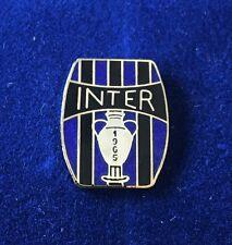 """INTER FC PINS DI PRESTIGIO COPPA CAMPIONI 1965 """"VINTAGE 011"""" clips (bottone)"""
