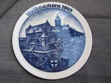 2. WK Weihnachtsteller von Rosenthal Ordensschloss Marienburg 1942
