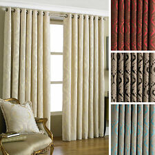Cotton Blend Ring Top Curtains