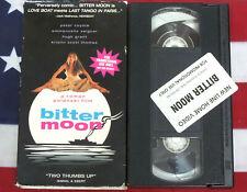Bitter Moon (VHS, 1992, SCREENER PROMO) Roman Polanski, Peter Coyote, Video RARE