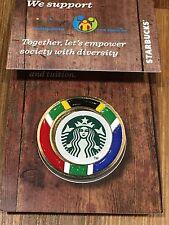 2016 Starbucks Pin Badge from Johannesburg South Africa New