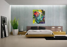 Modern Art,CONTEMPORARY WALL Decor,Abstract acrylic Painting on CanvasFIRE WORKS