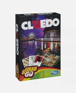 Cluedo Grab and Go Game - Travel Size Game - NEW