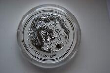 2012 Australia Lunar dragon 1 Kilo Silver Coin