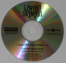 Lynyrd Skynyrd  Last Of a Dyin' Breed  U.S. promo cd