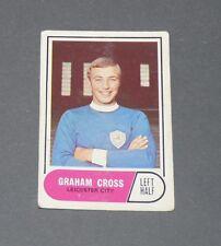A & BC GUM CARD FOOTBALL ENGLAND 1969 GRAHAM CROSS LEICESTER CITY FOXES