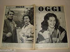 OGGI=1954/22=ANNA MARIA PIERANGELI=VIVIEN LEIGH=GENNARO PASQUARIELLO=MARIA FIORI