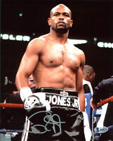 Roy Jones Jr. Authentic Signed Vertical 8x10 Photo Autographed BAS Witnessed 1
