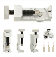 New Metal Bracelet Link Pin Remover Repair Adjustable Watch Band Strap Tool Set