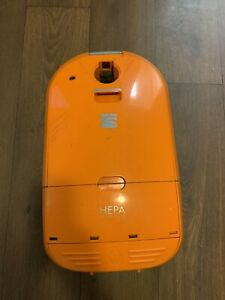 Kenmore Progressive True Hepa 116 REPLACEMENT Canister Vacuum Orange READ!