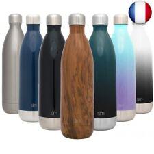 Simple Modern 1L Wave Gourde Inox Bouteille Isotherme - Mug Sport Tasse de