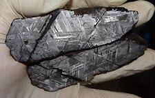 New listing Amazing 570 Gm. Muonionalusta Etched Meteorite Pair