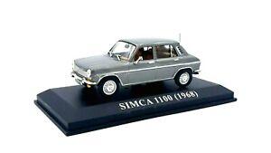 SIMCA  1100  -  1968   -  IXO / ALTAYA   - 1/43
