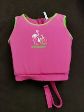 "Aqua Leisure Swim School Upf 50 Pink Swim Vest 22"" Chest 33-55Lbs"