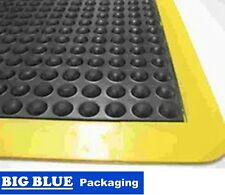 ANTI FATIGUE BUBBLE MAT 900mm x 1200mm 12mm Thick Border Comfort Safety Dry Area