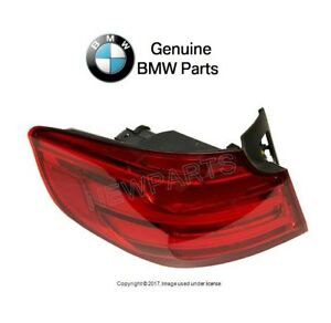 For BMW F34 Gran Turismo 14-16 Inner RED Driver Left TailLight Rear Lamp Genuine