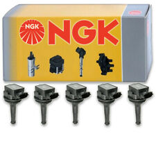 5 pcs NGK Ignition Coil for 2003-2007 Volvo XC70 2.5L L5 - Spark Plug Tune qc
