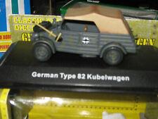 German Type 82 Kubelwagen Classic Armor DieCast Model-Free Shipping
