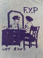 FYP cops police RARE kbd spazz propagandhi 90s PUNK t shirt ORIGINAL! XL nofx