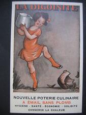 """CPA -  """"LA DIGOINITE"""" - POTERIE CULINAIRE - DESSINEE PAR F.POULBOT-TBE- NEUVE -"""