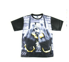 New Fashion Womens/Mens portrait tupac 2pac 3D Print Casual T-shirt UK403