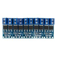 15A MOS Trigger Switch Driver Module FET PWM Regulator High Power ElectronicY1O5
