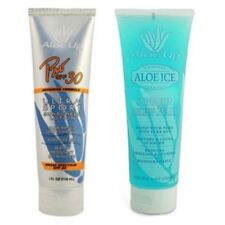 Aloe Up Spf 30 Pro Sports Biodegradable Sunscreen With After Sun Gel