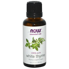 White Thyme (100% Pure), 1 oz - NOW Foods Essential Oils
