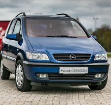 Las cejas para Vauxhall/Opel Zafira A 99-05 Faros párpados las tapas de plástico ABS